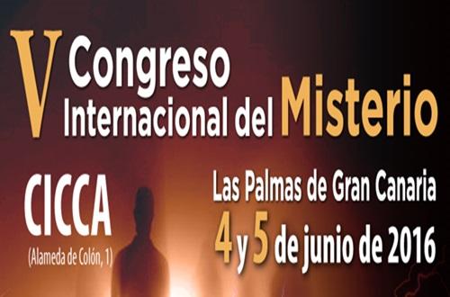 """El """"misterio"""" ocupa el CICCA los días 4 y 5 de junio, en un nuevo Congreso Internacional"""