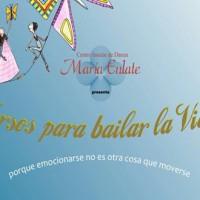"""María Álvarez de Eulate presenta su espectáculo """"Versos para bailar la Vida"""""""