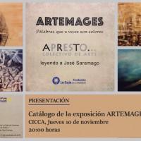 """Presentación el catálogo de la exposición """"Artemages"""""""