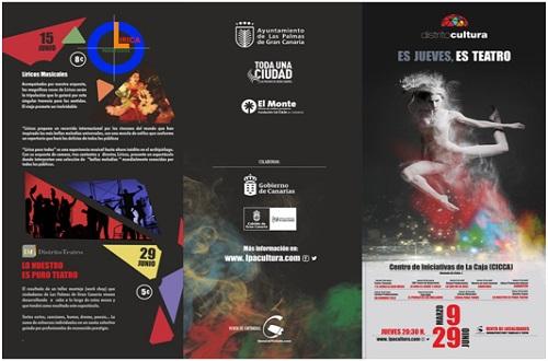 """Distrito Cultura presenta en el CICCA """"Y el verbo se hizo mujer"""" y la obra """"La Vida es sueño y circo"""""""