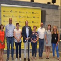 La Fundación La Caja de Canarias concede 100.000 euros a los municipios para facilitar a 1.500  escolares el acceso a material escolar
