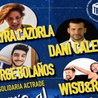 """Omayra Cazorla, Dani Calero, Jorge Bolaños y  Wiso & Rod. en la Gala """"Sonríele al mundo azul"""""""