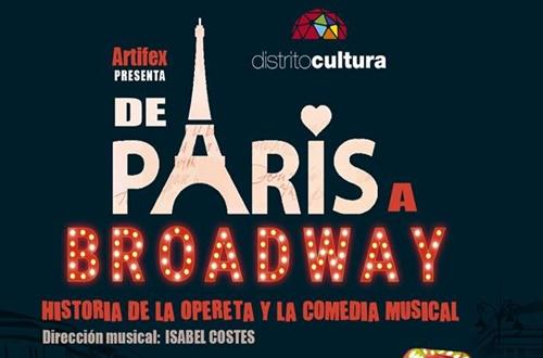 """Vuelve """"Es jueves, es teatro"""" en el CICCA con """"De París a Broadway"""""""