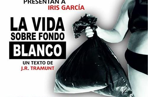 """Iris García presente """"LA VIDA SOBRE FONDO BLANCO"""" en el CICCA"""