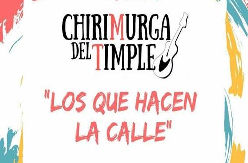 Presentacion del nuevo personaje, CHIRIMURGA DEL TIMPLE, en el CICCA