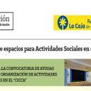 Cesión de espacios para actividades Sociales en el CICCA