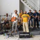 Presentación del primer disco de Radio Baifa en el CICCA