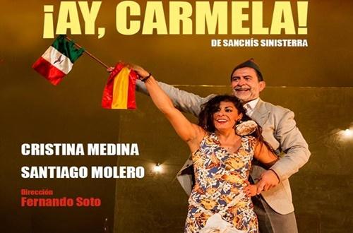 """¡AY CARMELA! da comienzo a """"Es jueves es teatro"""" de Distrito Cultura"""