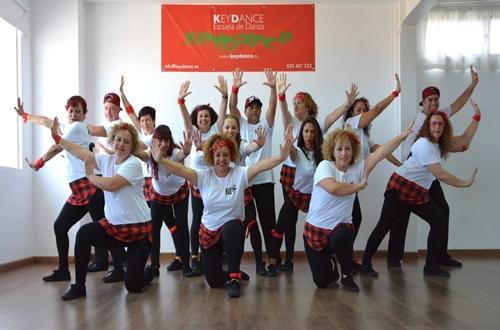 BAILA PARA ELLOS, producido por la Escuela de Danza Keydance a beneficio de la FUNDACIÓN CANARIA OLIVER MAYOR