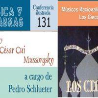 ÚLTIMA CONFERENCIA DE PEDRO SCHLUETER DE LA SERIE MÚSICA Y PALABRAS