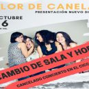"""Cancelación del concierto de """"Flor de Canela"""" en el CICCA (Traslado del mismo al Auditorio Alfredo Kraus)"""