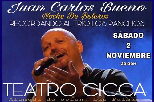 Concierto de Juan Carlos Bueno (Evento cancelado)