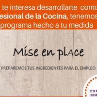 """""""La Fundación La Caja de Canarias y el SCE promueven el proyecto para la creación de empleo  """"Misé en Place"""". Apúntate"""
