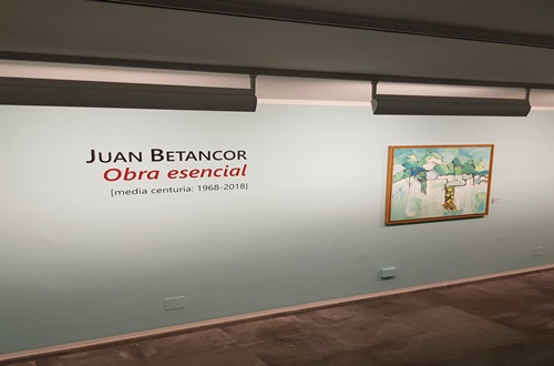 El CICCA inaugura la exposición  'Juan Betancor: obra esencial (media centuria: 1968-2018)'