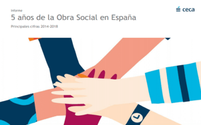 """""""Informe de 5 años de la Obra Social, (2014-2018)""""/Ona Carbonell, elegida embajadora de la Obra y Acción Social de CECA"""