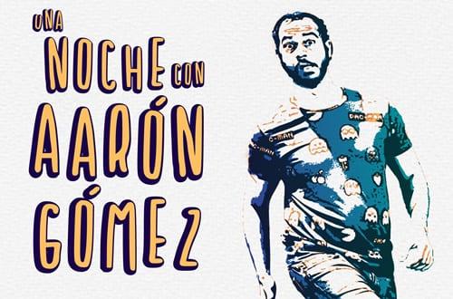 'Una noche con Aarón Gómez' en el CICCA