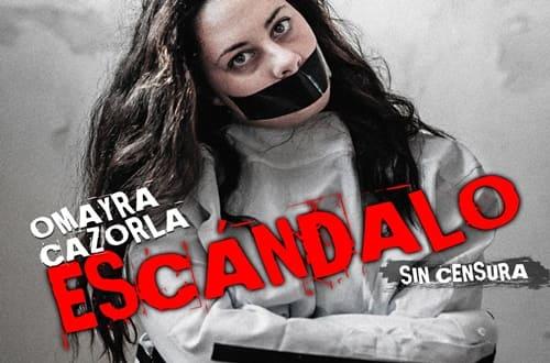 """OMAYRA CAZORLA no dejará indiferente a nadie con su monólogo """"Sin Censura"""""""