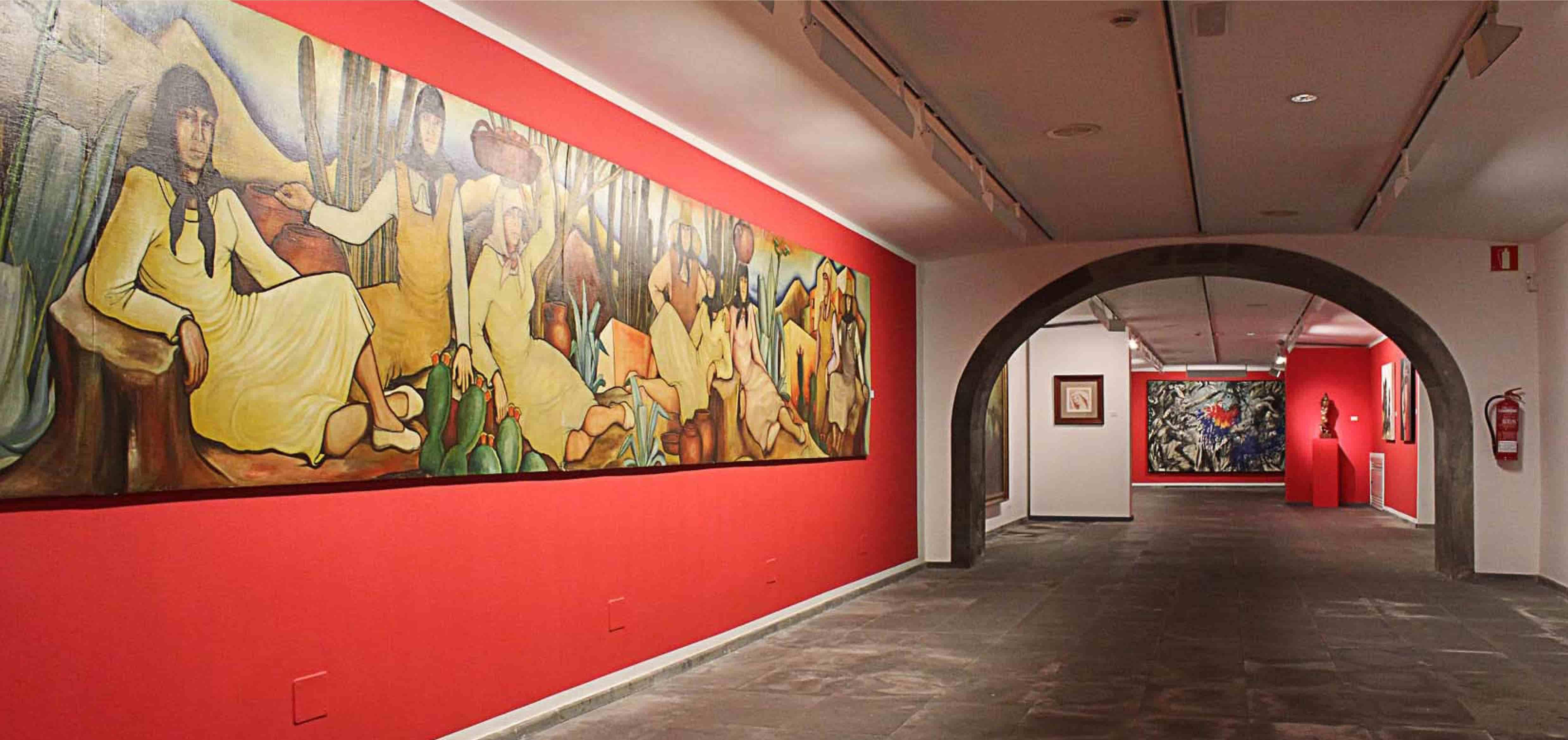 Sala de exposiciones y muestras