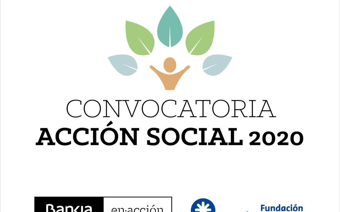 Comunicado: Convocatoria Acción Social