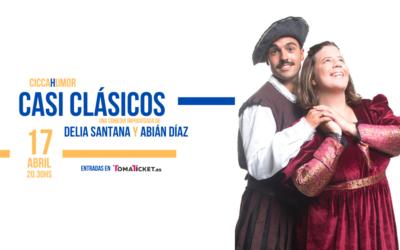 """""""Casi Clásicos"""", teatro con Delia Santana y Abián Díaz en el CICCA"""