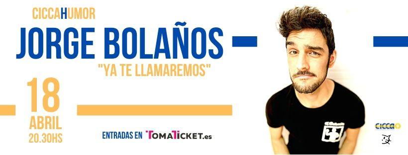 """El humor de Jorge Bolaños en el CICCA con su espectáculo """"Ya te llamaremos"""""""