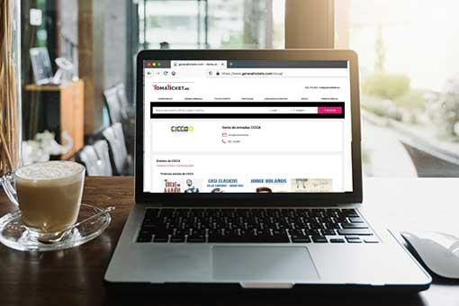 Cómo comprar online en Toma Ticket