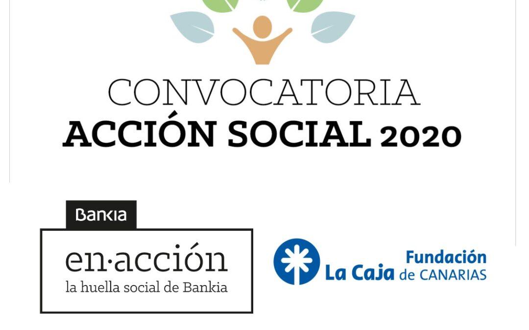 Bankia y Fundación La Caja de Canarias apoyan con 175.000 euros, 25.000 euros más que el año pasado, los programas sociales