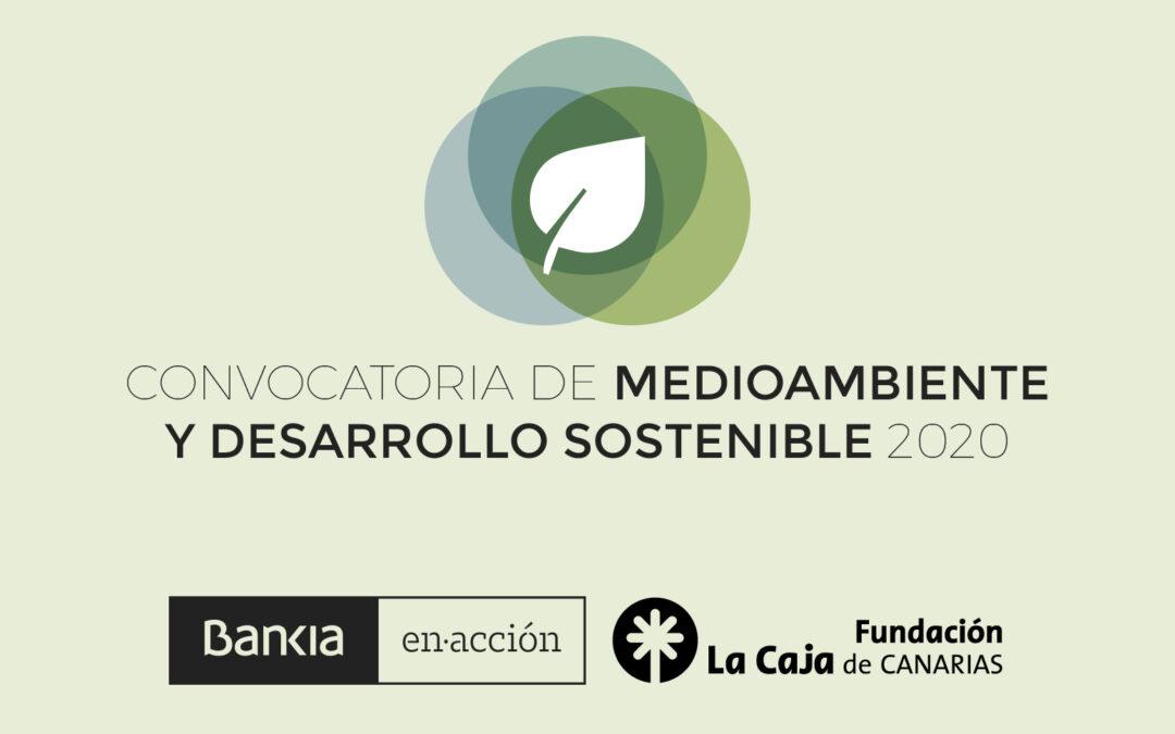 I Convocatoria de Medioambiente y Desarrollo Sostenible (plazo ampliado hasta el 23 de septiembre)