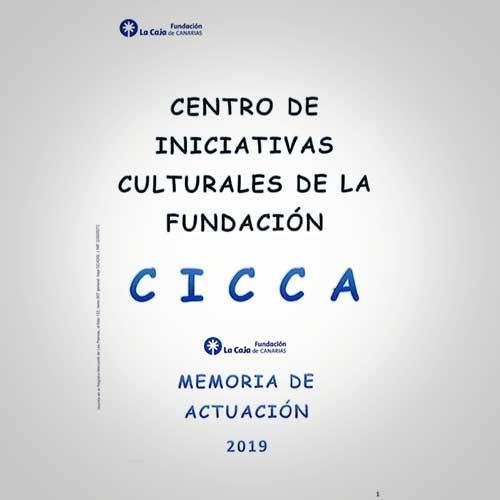 Memoria de Actuación CICCA