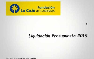 Liquidación del Presupuesto