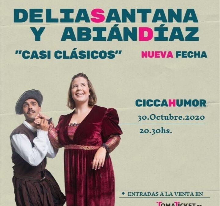 """Improvisación teatral con """"Casi clásicos"""" en el CICCA"""