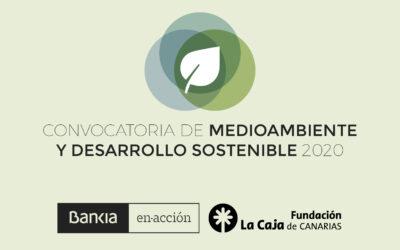 Bankia y Fundación La Caja de Canarias apoyan  con 20.000 euros dos proyectos medioambientales