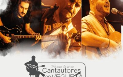 Cantautores en Vegueta (Fran Fernández, Luis Quintana y Rubén Rodríguez)