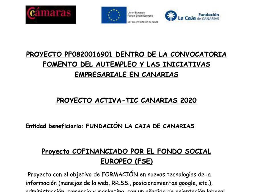 Activa TIC Canarias resumen 2020