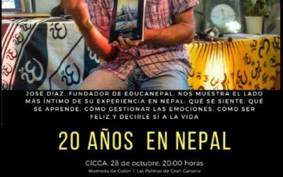 Jose Diaz, fundador de la Ong EDUCANEPAL, nos mostrara el lado mas intimo de su experiencia en Nepal