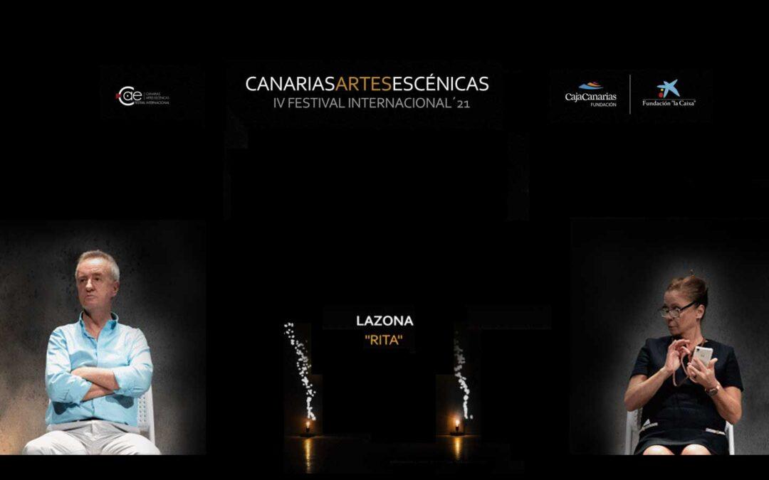Rita protagoniza las dos próximas fechas del IV Festival Canarias Artes Escénicas
