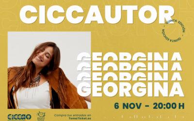 Vuelve el CICCAutor con un concierto de la cantante GEORGINA