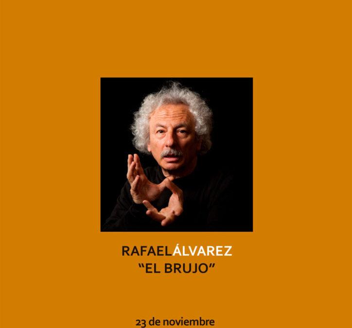 """Encuentro CAE con el Maestro Rafale Álvarez """"EL BRUJO"""""""